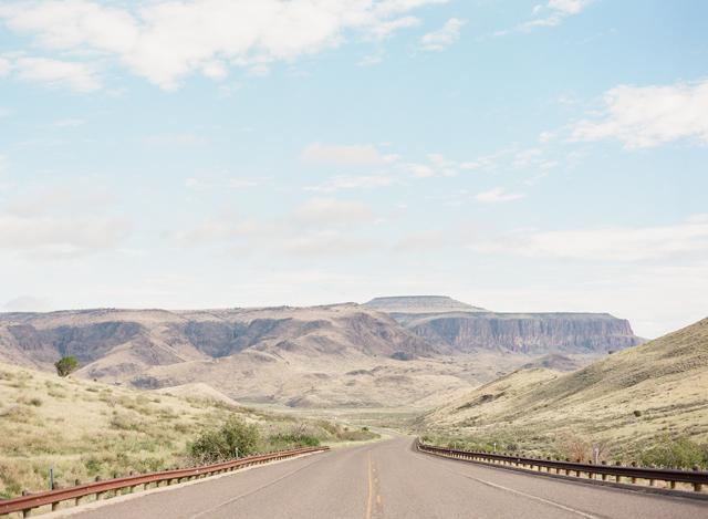 Road to Marfa by Kayla Barker Fine Art Photography